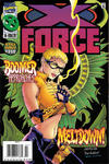Cover for X-Force (Marvel, 1991 series) #51 [Newsstand]