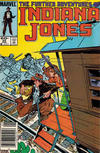 Cover Thumbnail for The Further Adventures of Indiana Jones (1983 series) #25 [Newsstand]