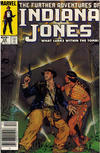 Cover Thumbnail for The Further Adventures of Indiana Jones (1983 series) #24 [Newsstand]