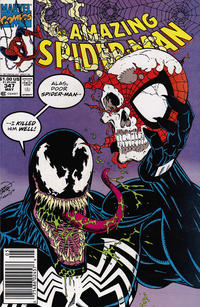 Cover Thumbnail for The Amazing Spider-Man (Marvel, 1963 series) #347 [Mark Jewelers]