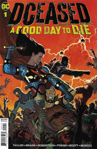 Cover Thumbnail for DCeased: A Good Day to Die (DC, 2019 series) #1 [Ryan Sook Cover]
