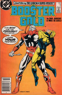 Cover Thumbnail for Booster Gold (DC, 1986 series) #9 [Newsstand]