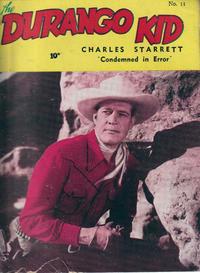 Cover Thumbnail for Durango Kid (Compix, 1952 series) #11