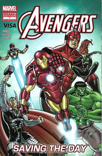 Cover Thumbnail for Avengers: Saving the Day (Marvel, 2014 series) #1