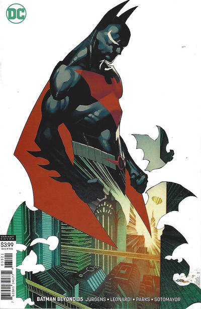 Cover for Batman Beyond (DC, 2016 series) #35 [Chris Stevens Cover]