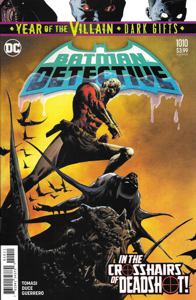 Cover for Detective Comics (DC, 2011 series) #1010