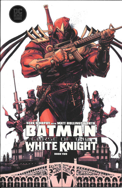 Cover for Batman: Curse of the White Knight (DC, 2019 series) #2