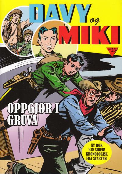Cover for Davy og Miki (Hjemmet / Egmont, 2014 series) #23 [Bokhandelutgave]