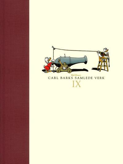Cover for Carl Barks samlede verk (Hjemmet / Egmont, 2005 series) #9