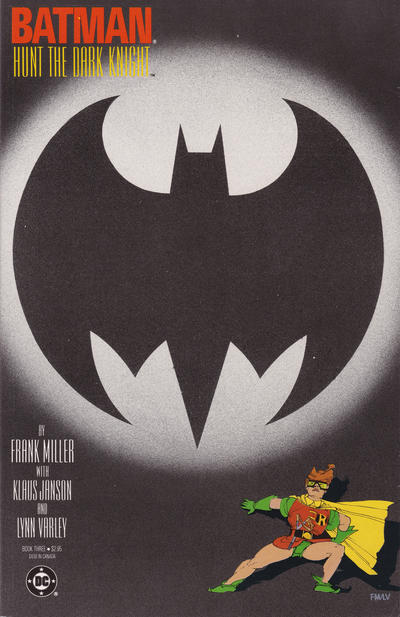 Cover for Batman: The Dark Knight (DC, 1986 series) #3 [Newsstand]