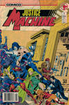 Cover for Justice Machine (Comico, 1987 series) #1 [Newsstand]