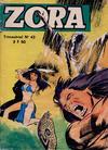 Cover for Zora (Jeunesse et vacances, 1967 series) #42