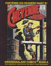 Cover for Gwandanaland Comics (Gwandanaland Comics, 2016 series) #2456-A - Cheyenne Kid Readers Giant #1