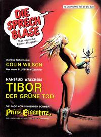 Cover Thumbnail for Die Sprechblase (Norbert Hethke Verlag, 1978 series) #84