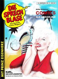 Cover Thumbnail for Die Sprechblase (Norbert Hethke Verlag, 1978 series) #111