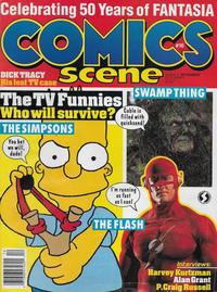 Cover Thumbnail for Comics Scene (Starlog Communications, 1987 series) #16 / 27