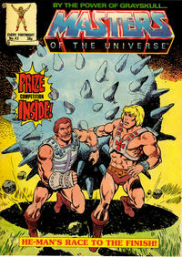 Cover Thumbnail for Masters of the Universe (Egmont UK, 1986 series) #43