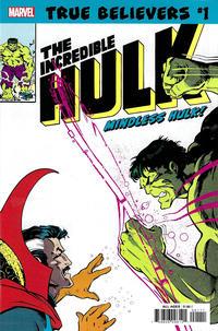 Cover Thumbnail for True Believers: Hulk - Mindless Hulk (Marvel, 2019 series) #1