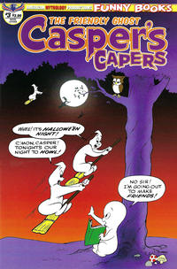 Cover Thumbnail for Casper's Capers (American Mythology Productions, 2018 series) #3 [Retro Cover]