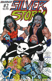 Cover Thumbnail for SilverStorm (Silverline Comics, 1998 series) #2