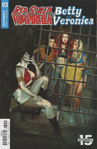 Cover Thumbnail for Red Sonja and Vampirella Meet Betty and Veronica (Dynamite Entertainment, 2019 series) #3