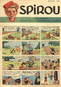 Cover Thumbnail for Spirou (Dupuis, 1947 series) #543