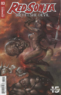 Cover Thumbnail for Red Sonja: Birth of the She-Devil (Dynamite Entertainment, 2019 series) #3
