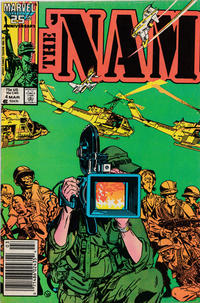 Cover Thumbnail for The 'Nam (Marvel, 1986 series) #4 [Newsstand]