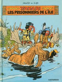 Cover Thumbnail for Yakari (Casterman, 1977 series) #9 - Les prisonniers de l'ile