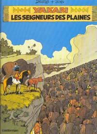Cover Thumbnail for Yakari (Casterman, 1977 series) #13 - Les seigneurs des plaines