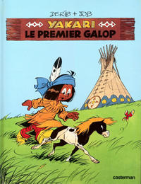 Cover Thumbnail for Yakari (Casterman, 1977 series) #16 - Le premier galop