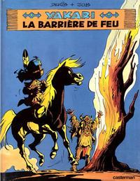 Cover Thumbnail for Yakari (Casterman, 1977 series) #19 - La barrière de feu