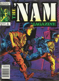 Cover Thumbnail for The 'Nam Magazine (Marvel, 1988 series) #5 [Newsstand]