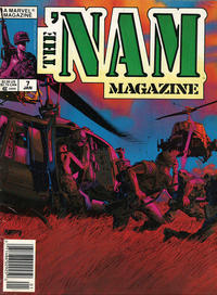 Cover Thumbnail for The 'Nam Magazine (Marvel, 1988 series) #7 [Newsstand]