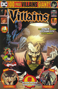 Cover Thumbnail for Villains Giant (DC, 2019 series) #1 [Mass Market Edition]