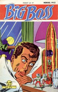 Cover Thumbnail for Big Boss (Arédit-Artima, 1960 series) #61