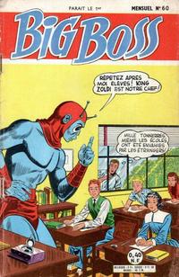Cover Thumbnail for Big Boss (Arédit-Artima, 1960 series) #60