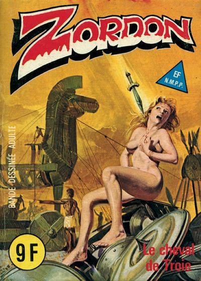 Cover for Zordon (Elvifrance, 1982 series) #7