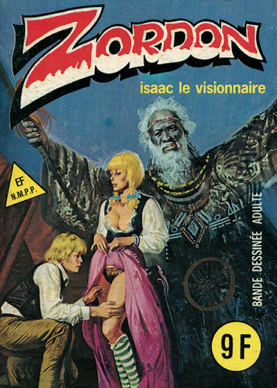 Cover for Zordon (Elvifrance, 1982 series) #8