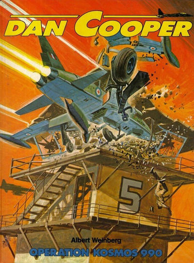 Cover for Dan Cooper (Edi-3-BD, 1980 series) #26 - Opération Kosmos 990