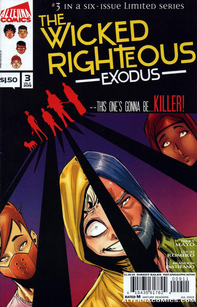 Cover for The Wicked Righteous: Exodus (Alterna, 2019 series) #v2#3