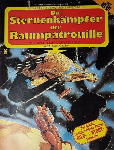 Cover for Der große galaktische Krieg (Condor, 1982 ? series) #8