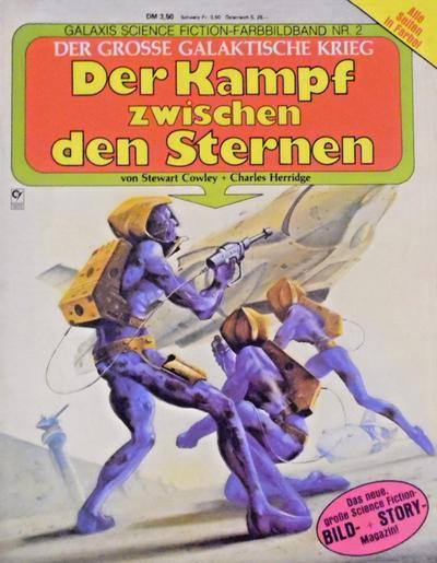 Cover for Der große galaktische Krieg (Condor, 1982 ? series) #2