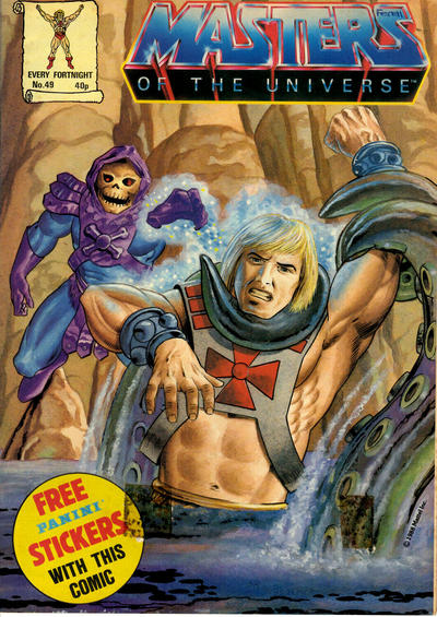 Cover for Masters of the Universe (Egmont UK, 1986 series) #49