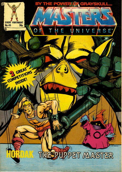 Cover for Masters of the Universe (Egmont UK, 1986 series) #45