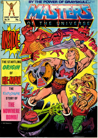 Cover for Masters of the Universe (Egmont UK, 1986 series) #35