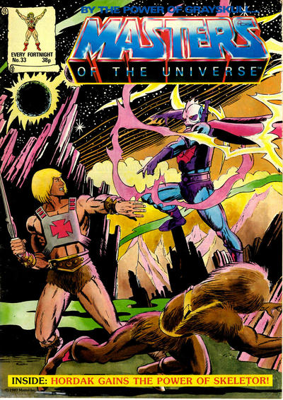 Cover for Masters of the Universe (Egmont UK, 1986 series) #33