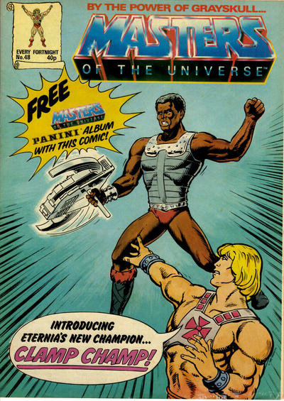 Cover for Masters of the Universe (Egmont UK, 1986 series) #48