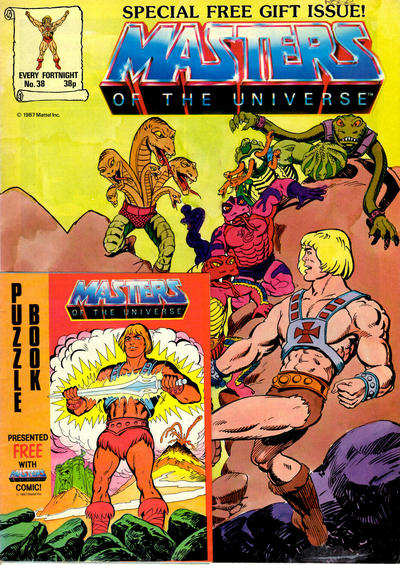 Cover for Masters of the Universe (Egmont UK, 1986 series) #38