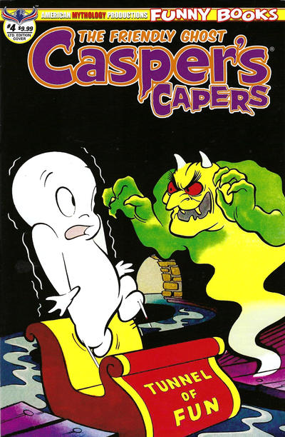 Cover for Casper's Capers (American Mythology Productions, 2018 series) #4 [Retro Cover]